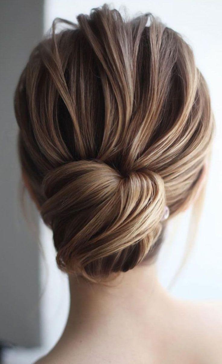 Put Up Hairstyles For Medium Length Hair Medium Hair Styles Chignon Hair