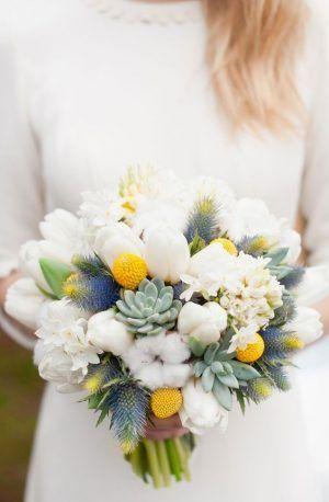 Un jolie bouquet pour une jolie mariée d'hiver ;)