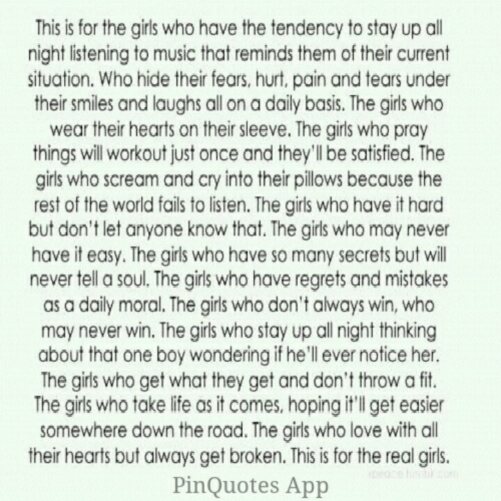 Heres to the girls.