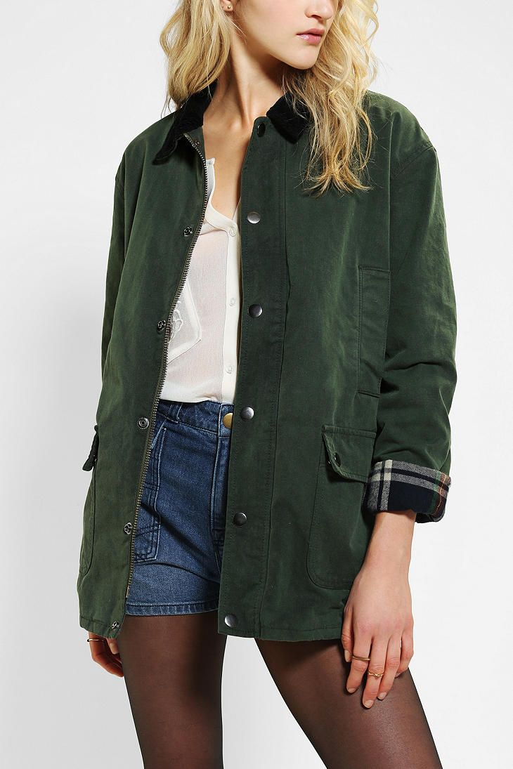 BDG Waxed Canvas Hunting Jacket (URBAN OUTFITTERS, SEPTEMBER 2013) Absolutely love this jacket!