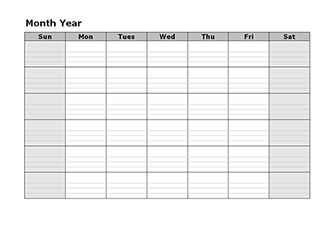 Free editable calendars for meal planning (at least that's what I will use them for)