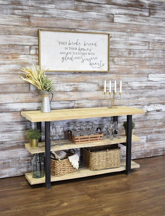 46+ Custom Farmhouse Dining Room with Shiplap Ideas in ...
