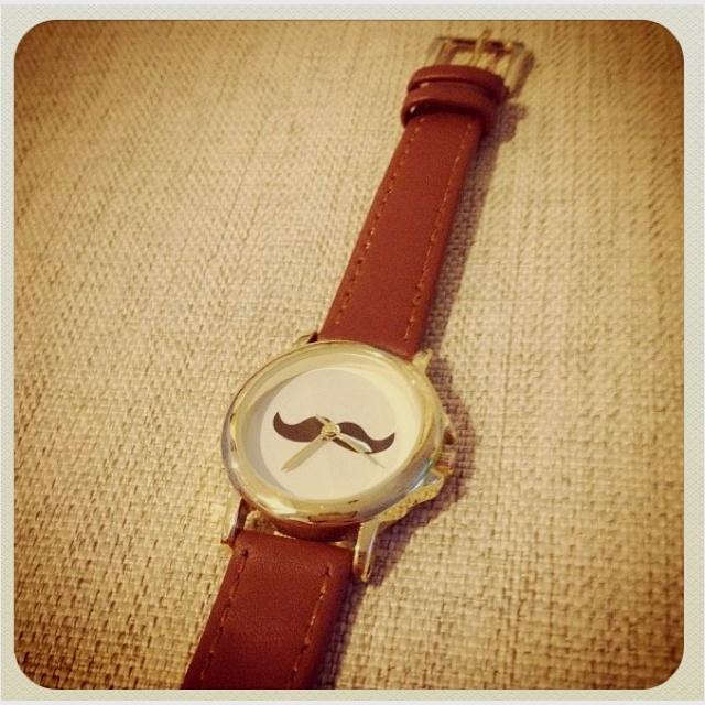Mr.Moustache's watch