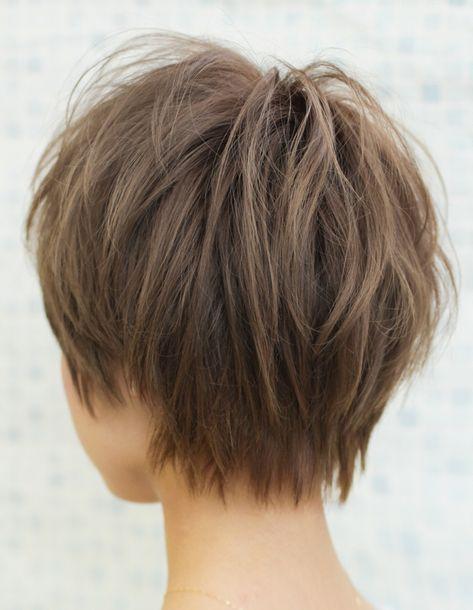 カジュアル毛束感ショートヘア(YR-395) | ヘアカタログ・髪型・ヘアスタイル|AFLOAT(アフロート)表参道・銀座・名古屋の美容室・美容院