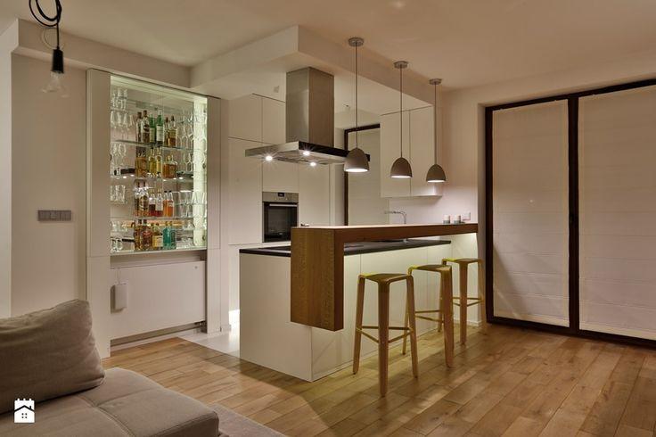 MIESZKANIE KRAKÓW - Kuchnia, styl nowoczesny - zdjęcie od DelaBartman