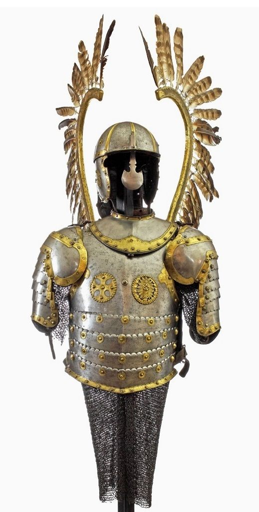 Half armor for a hussar by Anonymous from Poland, second half of the 17th…