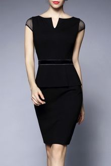 SHARE & Get it FREE | Black Peplum DressFor Fashion Lovers only:80,000+ Items • New Arrivals Daily • FREE SHIPPING Affordable Casual to Chic for Every Occasion Join Dezzal: Get YOUR $50 NOW!