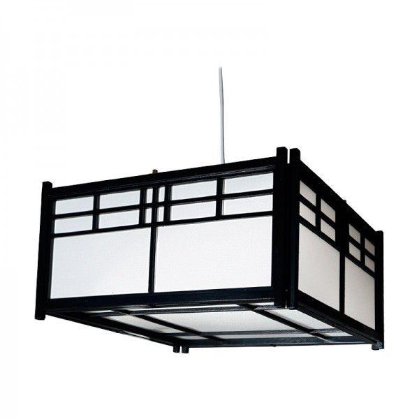 Japanische Deckenlampe Ishikawa Aus Feinen Holzrippen Japan Ischikawa