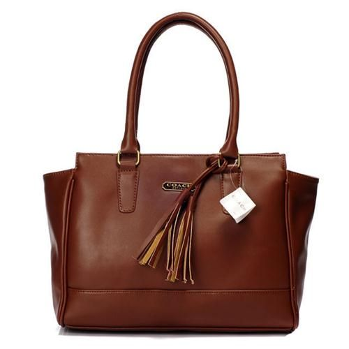 Newest Coach Legacy Candace Carryall Medium Brown Satchels AAO have Arrived! #ChooseEnjoyBags-COACH