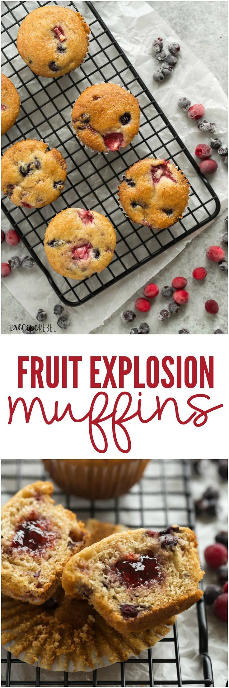 Fruit Explosion Muffins | The Recipe Critic