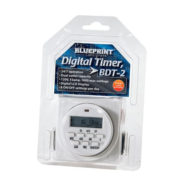 Blueprint Controllers Digital Timer 120V, BDT-2