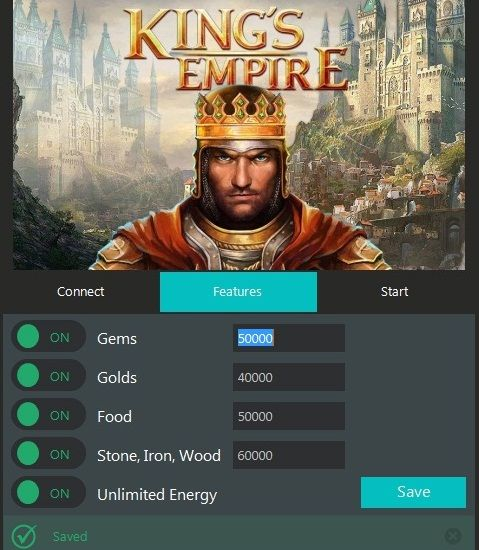 Kings Empire Hack Tool Cheats Engine No Survey Free Download