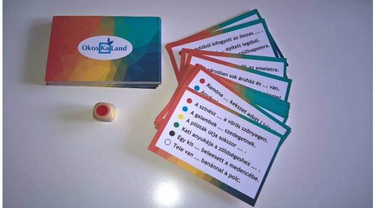 48 darab kártya lapkártyánként 6 mondat a melléknév, főnév és ige…