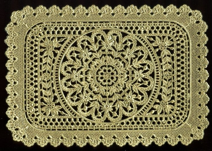 German Dresden Die Cut Victorian Gold Foil Paper Lace Panel Victorian Crafts | eBay