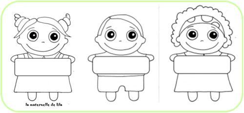 Etiquettes porte manteaux organisation classe - Etiquette porte manteau maternelle imprimer ...