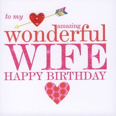 Romantic Birthday Wishes for Wife http://www.fashioncluba.com/2017/04/images-for-happy-birthday-wishes-to-wife.html