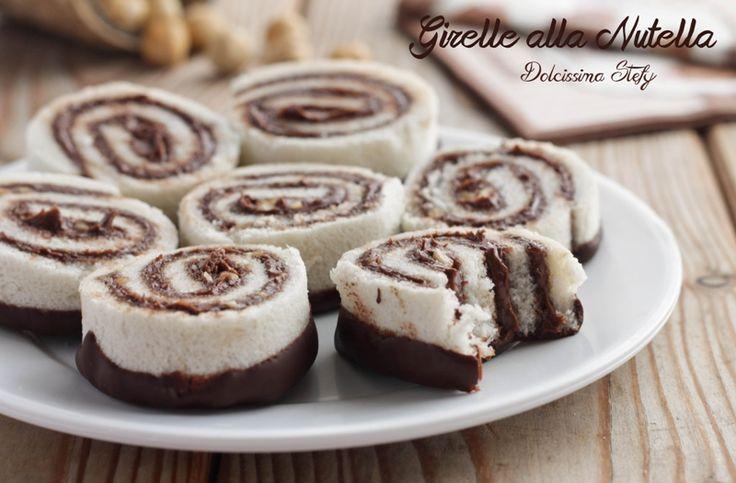 Queste golosissime Girelle alla Nutella senza cottura sono perfetta per una merenda sfiziosa. Pochi ingredienti, semplici passaggi e sono pronte.