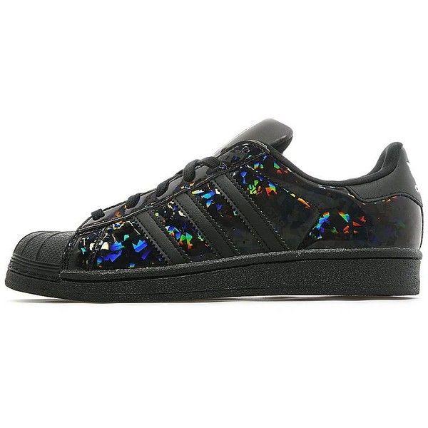 adidas superstar holographic stripes black