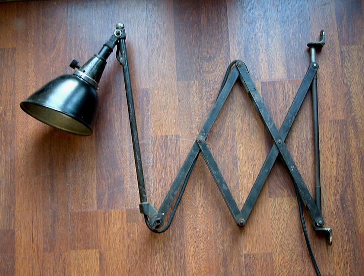 Midgard wall lamp, designed by Curt Fischer for Industriewerke Auma, Ronneberger & Fischer, Thüringen, Germany, c.1935