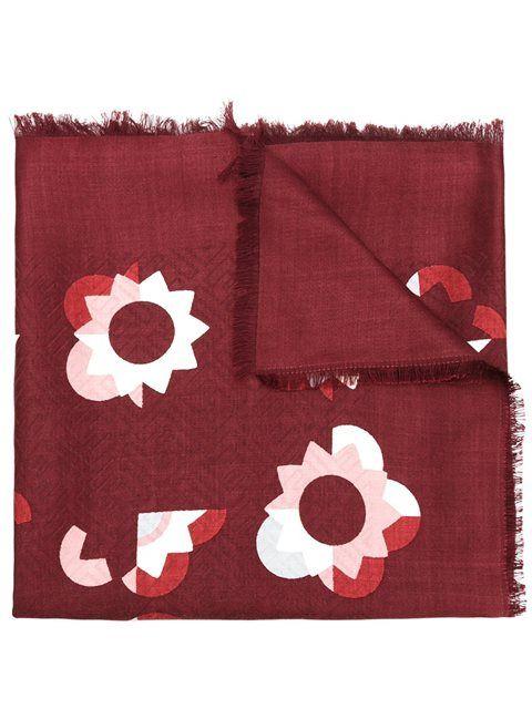 FENDI 'Flowerland' scarf. #fendi #scarf