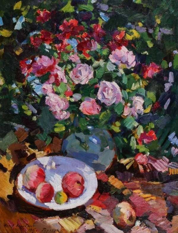 Konstantin Korovin Roses, 1917