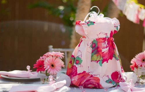 Baby Girl Dresses Used As The Centerpiece And Then You