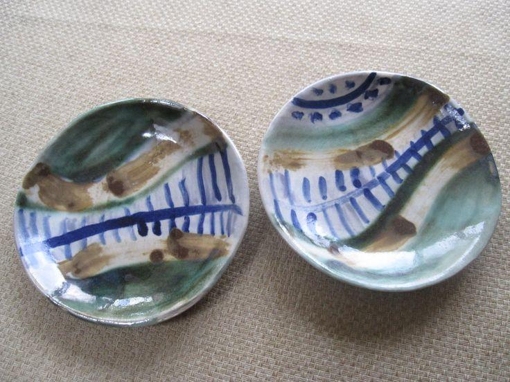 my ceramic plates. for sale on etsy.com/shop/brigolettasart