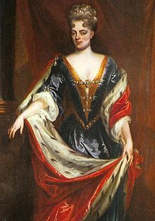Landgravine Marie Louise of Hesse-Kassel (7 February 1688 – 9 April 1765) was a daughter of Charles I, Landgrave of Hesse-Kassel, and Maria Amalia of Courland. By her marriage to John William Friso, Prince of Orange, she became Princess consort of Orange, a title last held by Mary II of England. Like her husband, she is an ancestor of all currently reigning monarchs in Europe.
