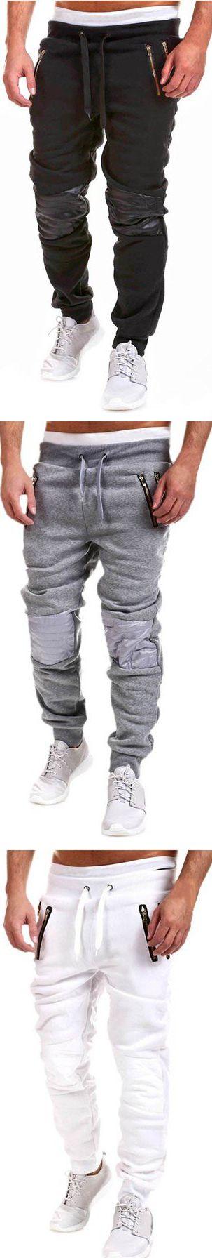 Men's Casual Jogger Dance Sportwear Baggy Harem Pants Slim Trousers Sweatpants