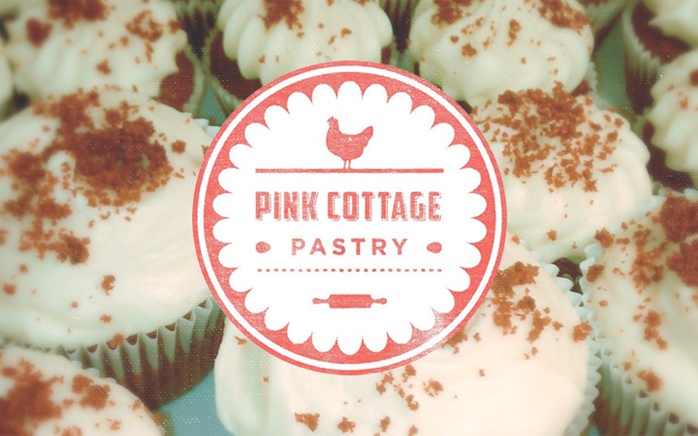 Twin Collective - Chicago Graphic and Web Design Studio - Pink Cottage Pastry