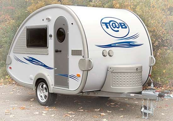 teardrop trailers for sale | teardrop trailer with wave body color and jolt grey trim