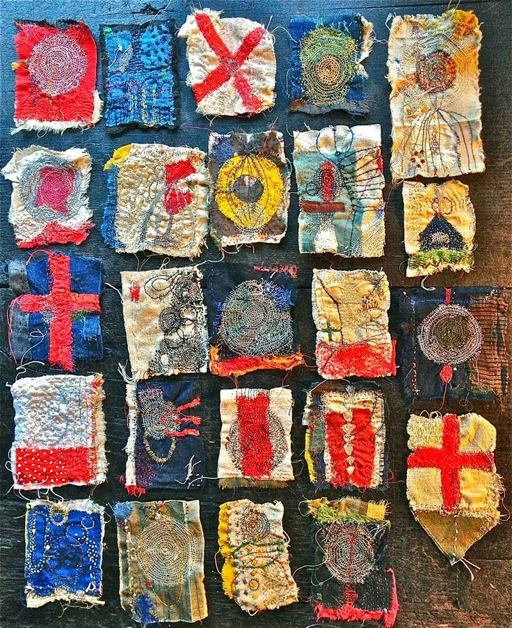The amazing freestyle embroidery of Japanese textile artist Junko Oki photo - woky-shoten.cocolog-nifty.com