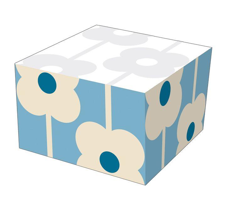 Orla Kiely Abacus Flower Memo Note Block