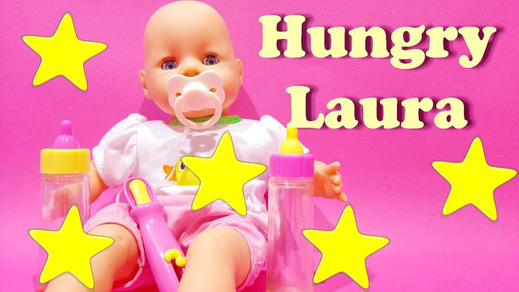 Amazing doll baby born Laura