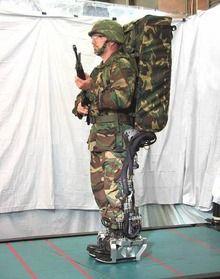 Powered exoskeleton - Wikipedia, the free encyclopedia