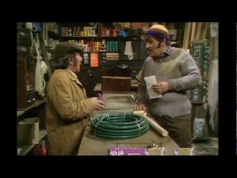 The Two Ronnies - Four Candles [HD] great comedy - one of their best sketches