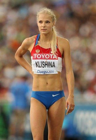 Darya Klishina, Track and Field