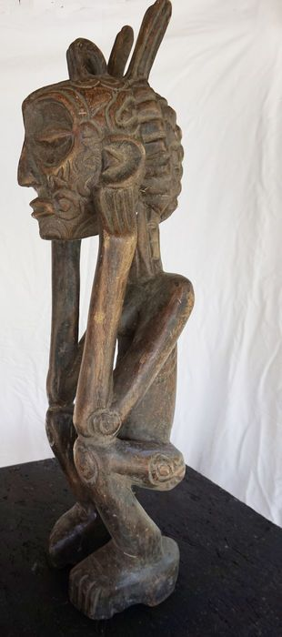 Catawiki online auction house: African ancestor sculpture - LUBA - D.R Congo, Katanga region.