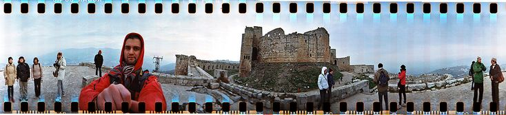 Taken at the Krak des Chevaliers, near the city of Qal`at al-Hosn, Syria
