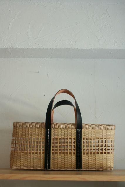 warang wayan ami ami lama (B) バンブーバスケット(大) - web shop   フリポン・フリポンヌ
