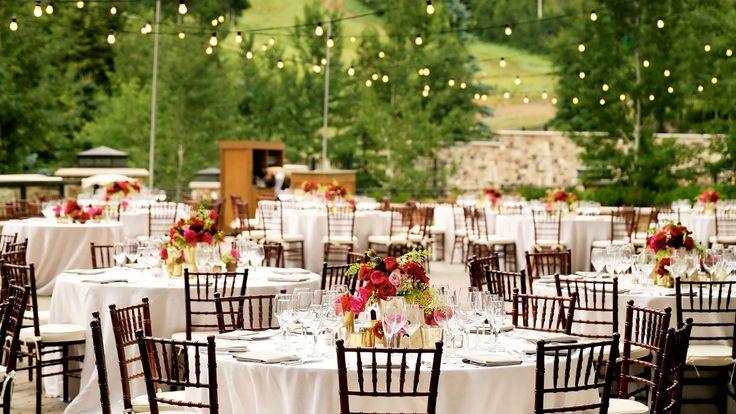 The St. Regis Deer Valley - Outdoor Wedding