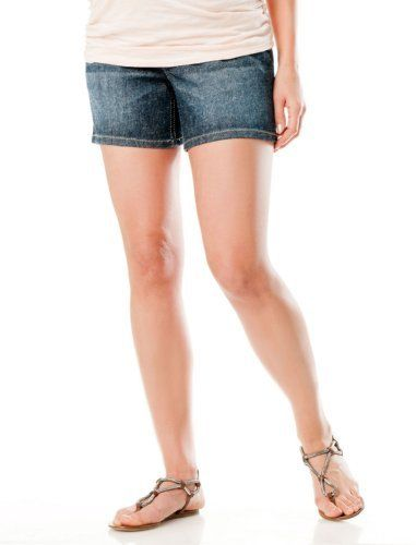 Motherhood Maternity: Indigo Blue Secret Fit Belly(r) Maternity Shorts Motherhood Maternity. $29.98