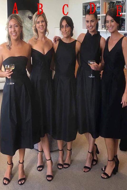 4a3e5f005dbc Short Bridesmaid Dresses, Black Shorts, Nice Dresses, Cute Dresses,  Beautiful Gowns,
