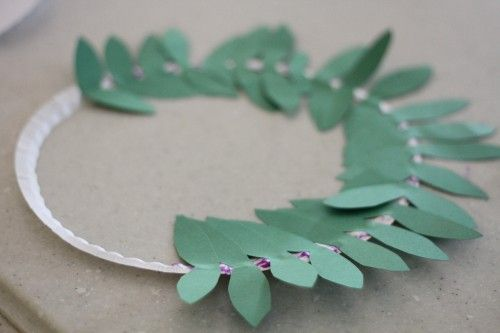 olympic olive wreath // olympics day
