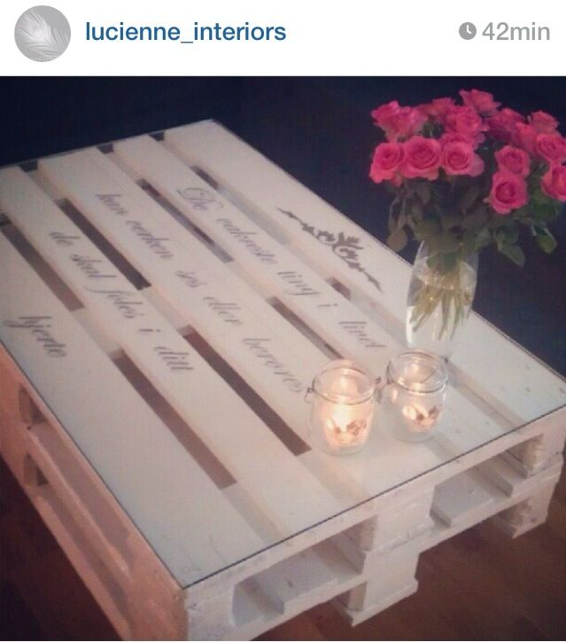 Una mesa con frases importantes para ti, sería una excelente decoración para tu casa.
