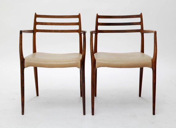 N.O. Møller Carver Chairs 62 by 506070 on Etsy