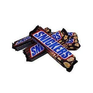 Snickers Suklaapatukka 32 kpl tämä tai muu supertarjous suklaapatukoista saa tulla lasten jaettavaksi.