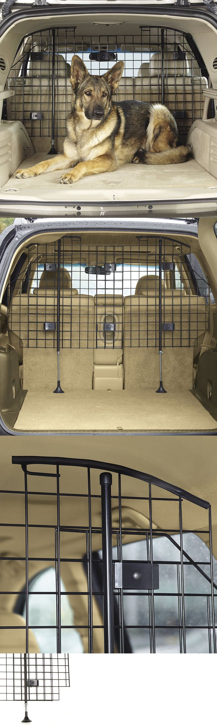 Car Seats and Barriers 46454: Dog Barrier For Suv Station Wagon Vehicle Safety Pet Protector Adjustable Cage BUY IT NOW ONLY: $104.21