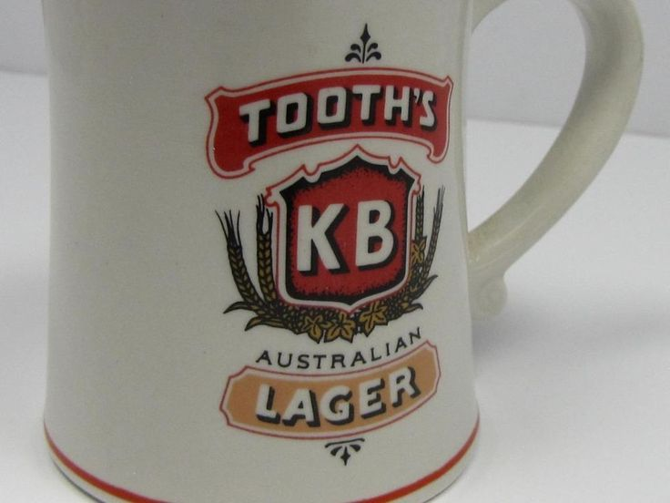 COLLECTIBLE: Australian Breweries TOOTH S KB LARGER TANKARD