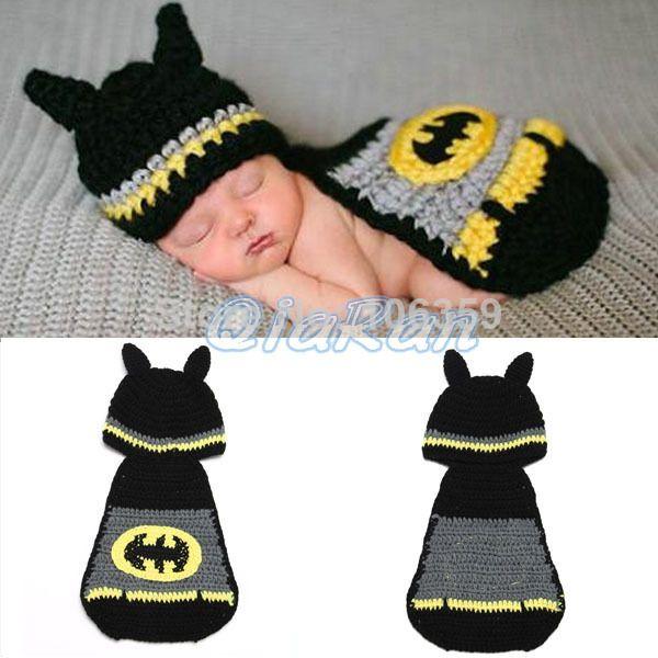 Free Crochet Pattern For Infant Batman Hat : 17 Best ideas about Baby Batman Costume on Pinterest ...